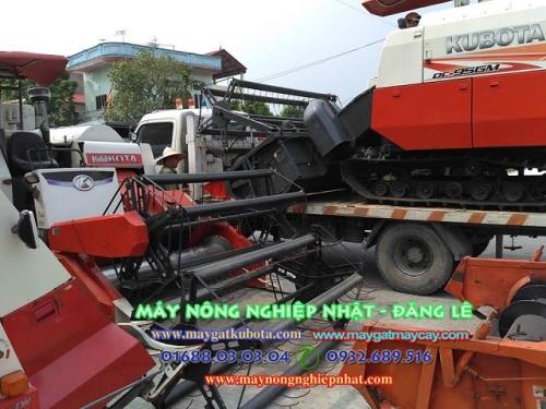 Hình ảnh Xuất Máy bán máy gặt Kubota DC 95GM thái lan đi Duy Tiên Hà Nam