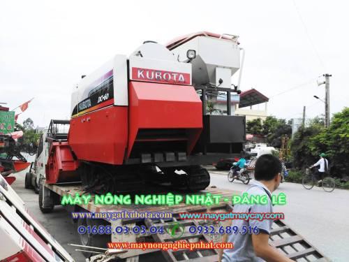 Bán máy gặt kubota DC60 ngay tại Đông Triều Quảng Ninh